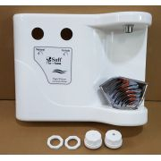 Kit Painel Frontal para Purificador Soft Flat (Branco/Prata/Preto)