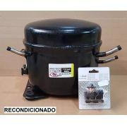 Motor para Geladeira e Freezer - Compressor 1/4 HP - R134a - Recondicionado