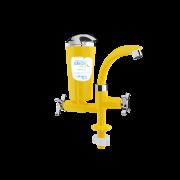 Purificador Ideale Eco De Bancada Amarelo Cromado - Planeta Água