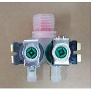 Válvula Dupla para Lavadora Electrolux LT50 / LT60 - 220v