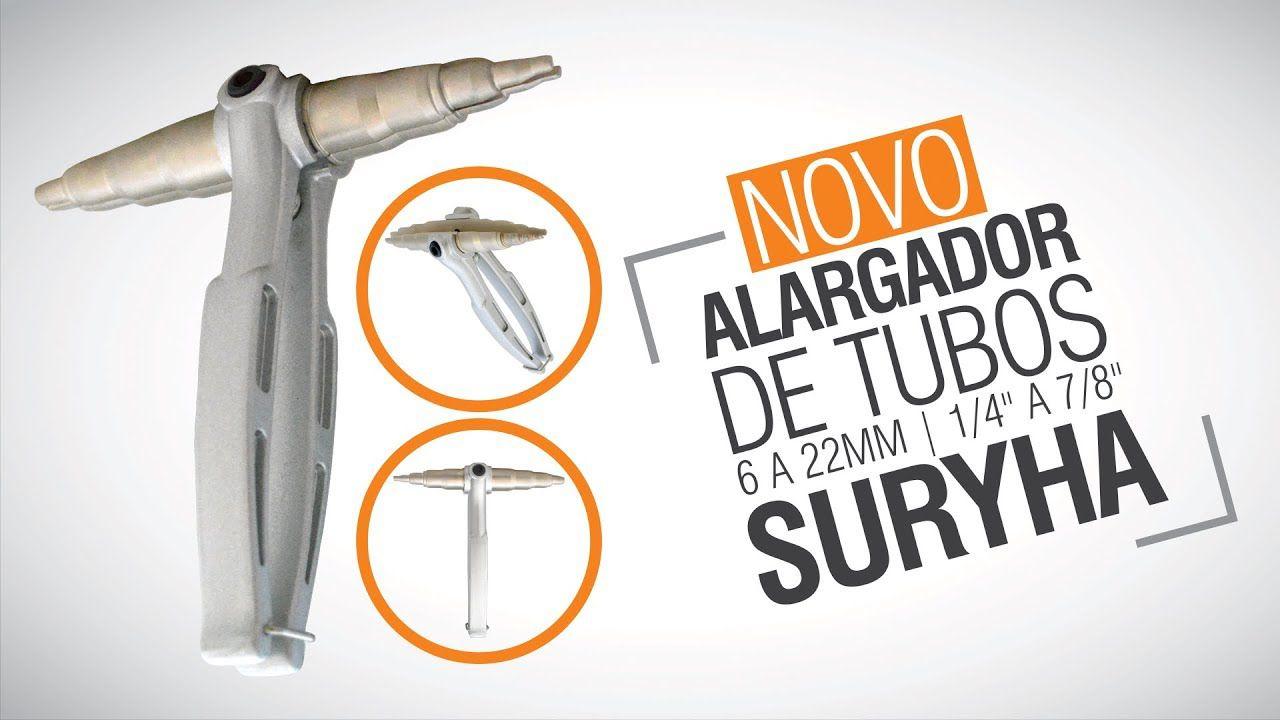 """Alargador de Tubos de 6 a 22mm - 1/4"""" a 7/8"""" - Suryha"""