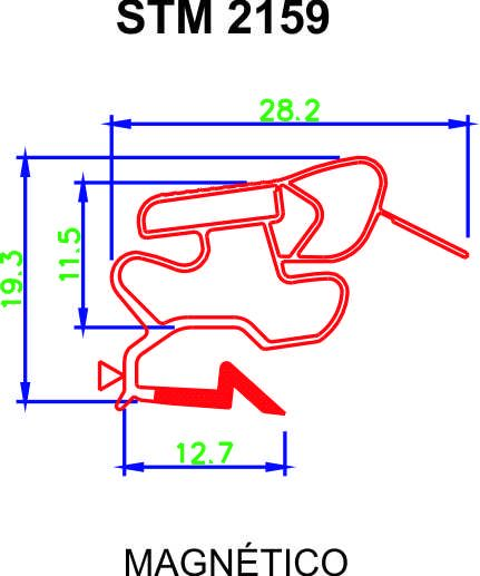 Borracha de Geladeira Electrolux - Medida Inferior: 68 x 1,25 cm - Modelos: DFF44 / DF45 / DC47 / DC48 / DF48 ** CONFIRA AS MEDIDAS **