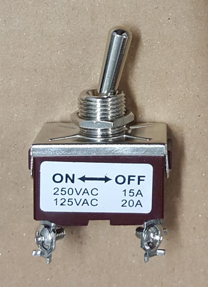 Chave Interruptor Alavanca On/Off - 4 Polos - 250vac / 125vac