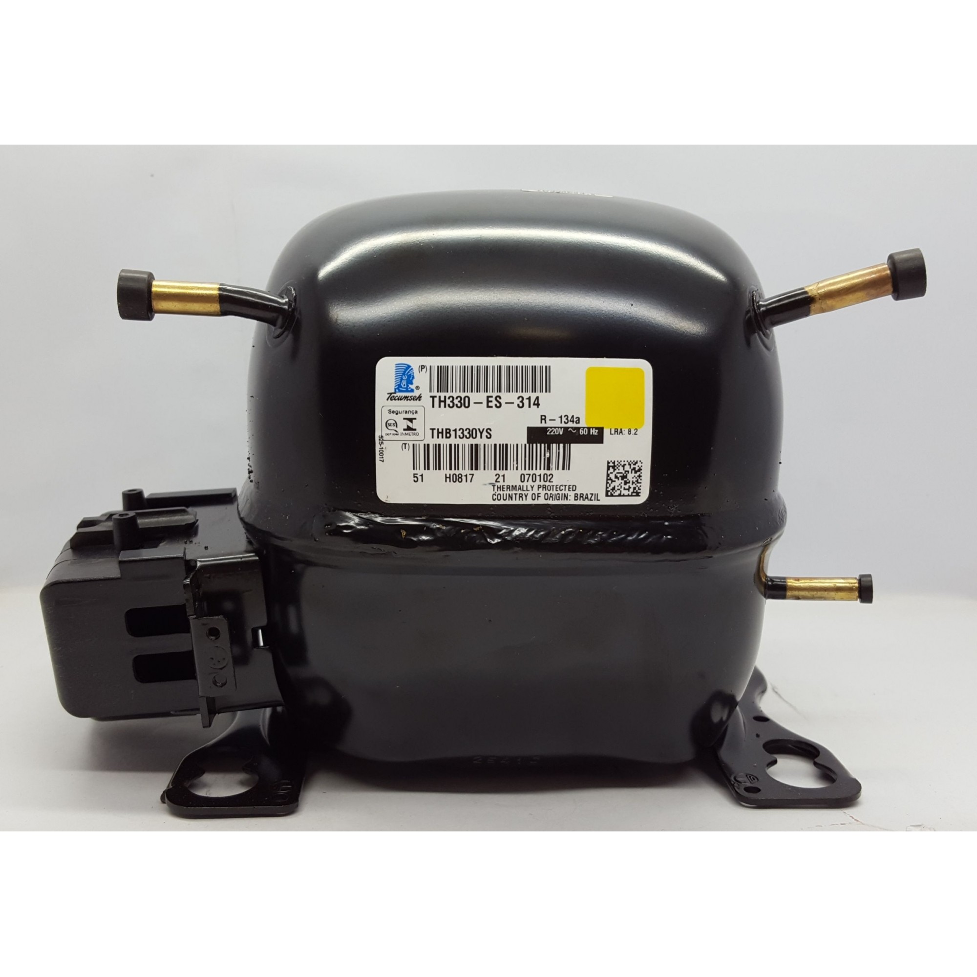 MOTOR COMPRESSOR TECUMSEH 1/10 HP - THB1330YS - R-134a (220v)