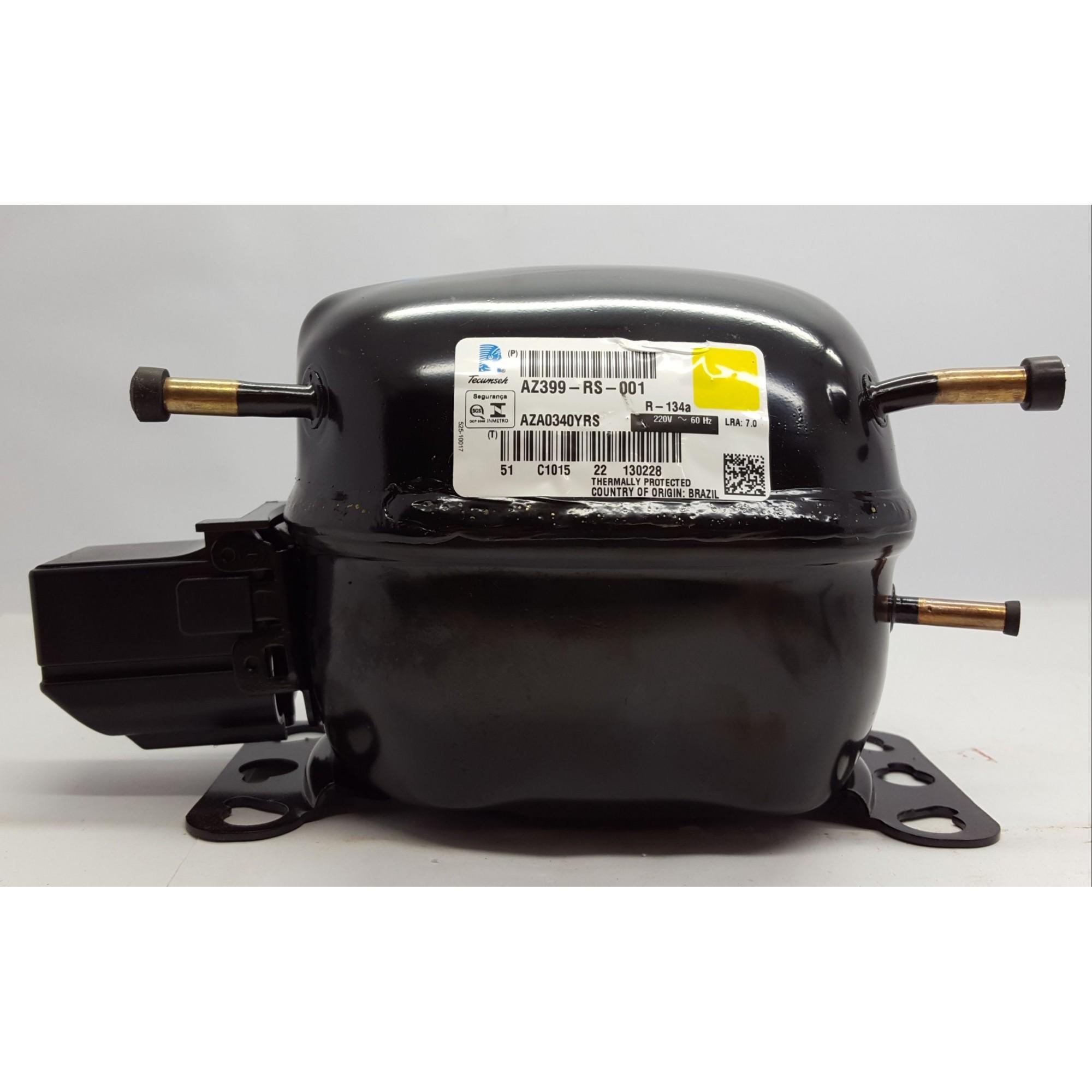 MOTOR COMPRESSOR TECUMSEH 1/12 HP - AZA0340YRS - R-134a (220v)