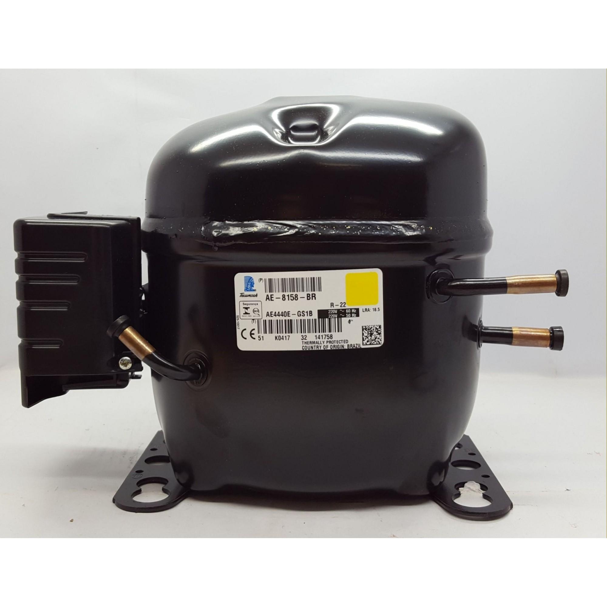 MOTOR COMPRESSOR TECUMSEH 1/3 HP - AE4440E-GS1B - R-22 (220v)