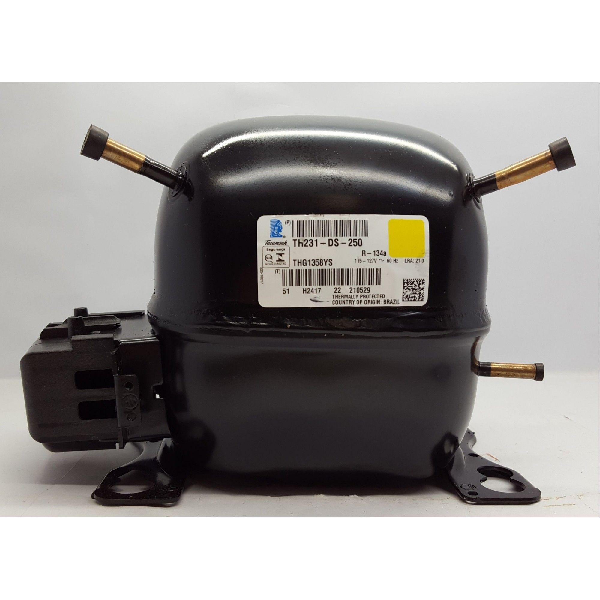 MOTOR COMPRESSOR TECUMSEH 1/5 HP - THG1358YGS - R-134a (220v ou 110v)