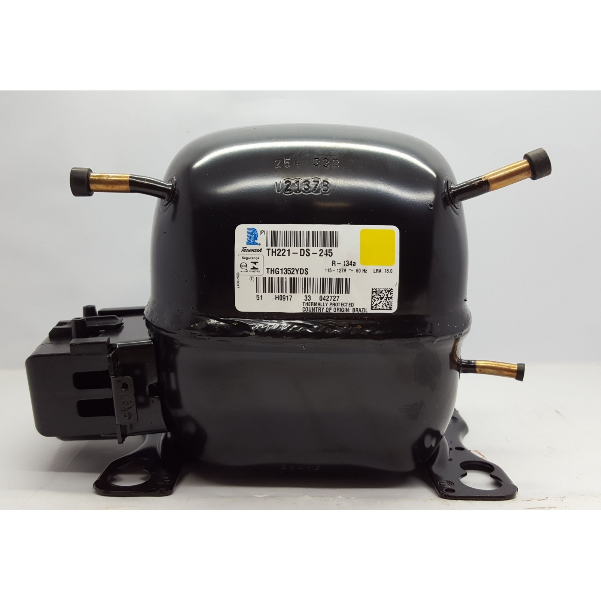 MOTOR COMPRESSOR TECUMSEH 1/6 HP - THG1352YDS - R-134a (110v)