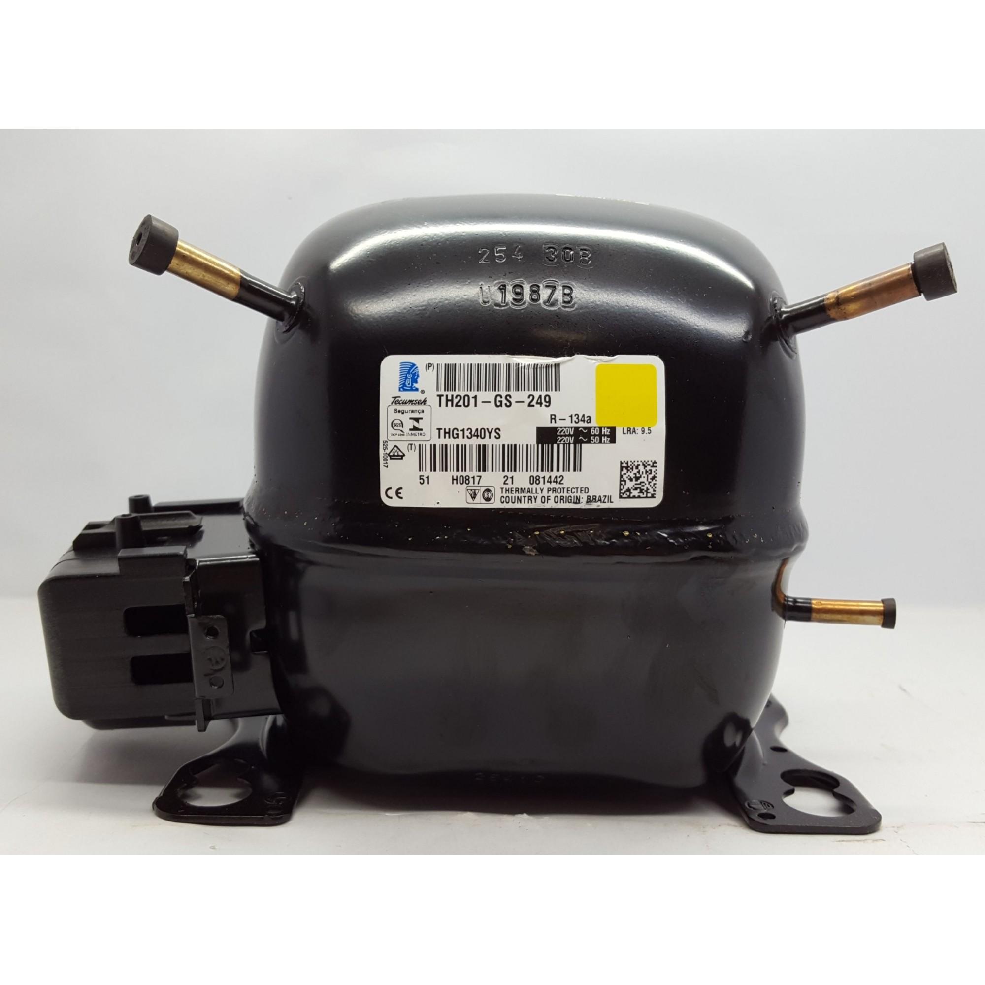 MOTOR COMPRESSOR TECUMSEH 1/8 HP - THG1340YS - R-134a (220v)