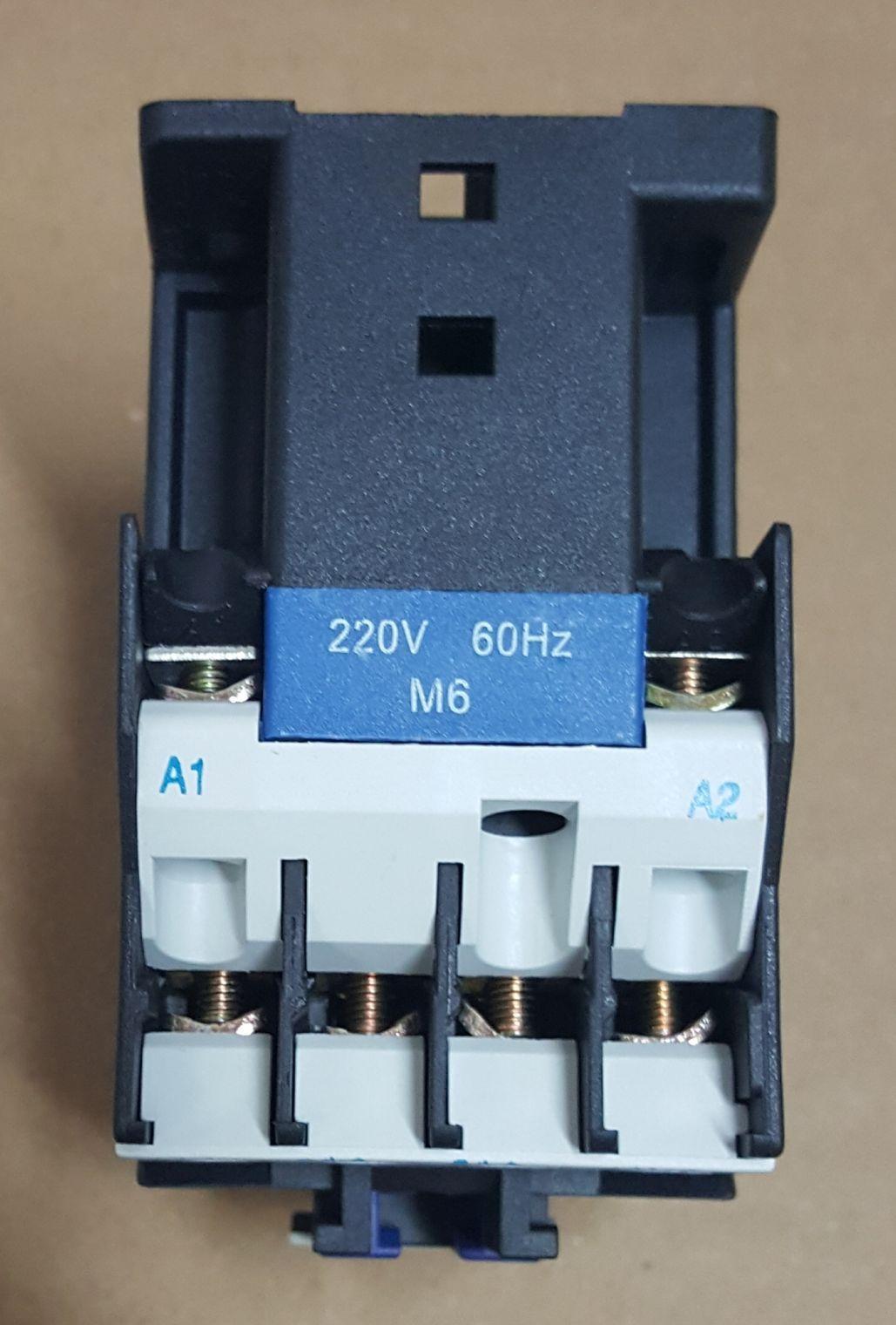 CONTATOR AUXILIAR CJX2-1210 (12 AMPERES) 220V FAIXA AJUSTE 20A