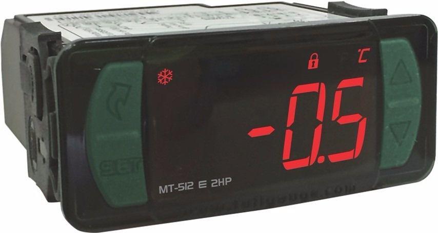 Controlador de Temperatura MT512EL 2HP Versão 13 - 12/24 Vac - Full Gauge