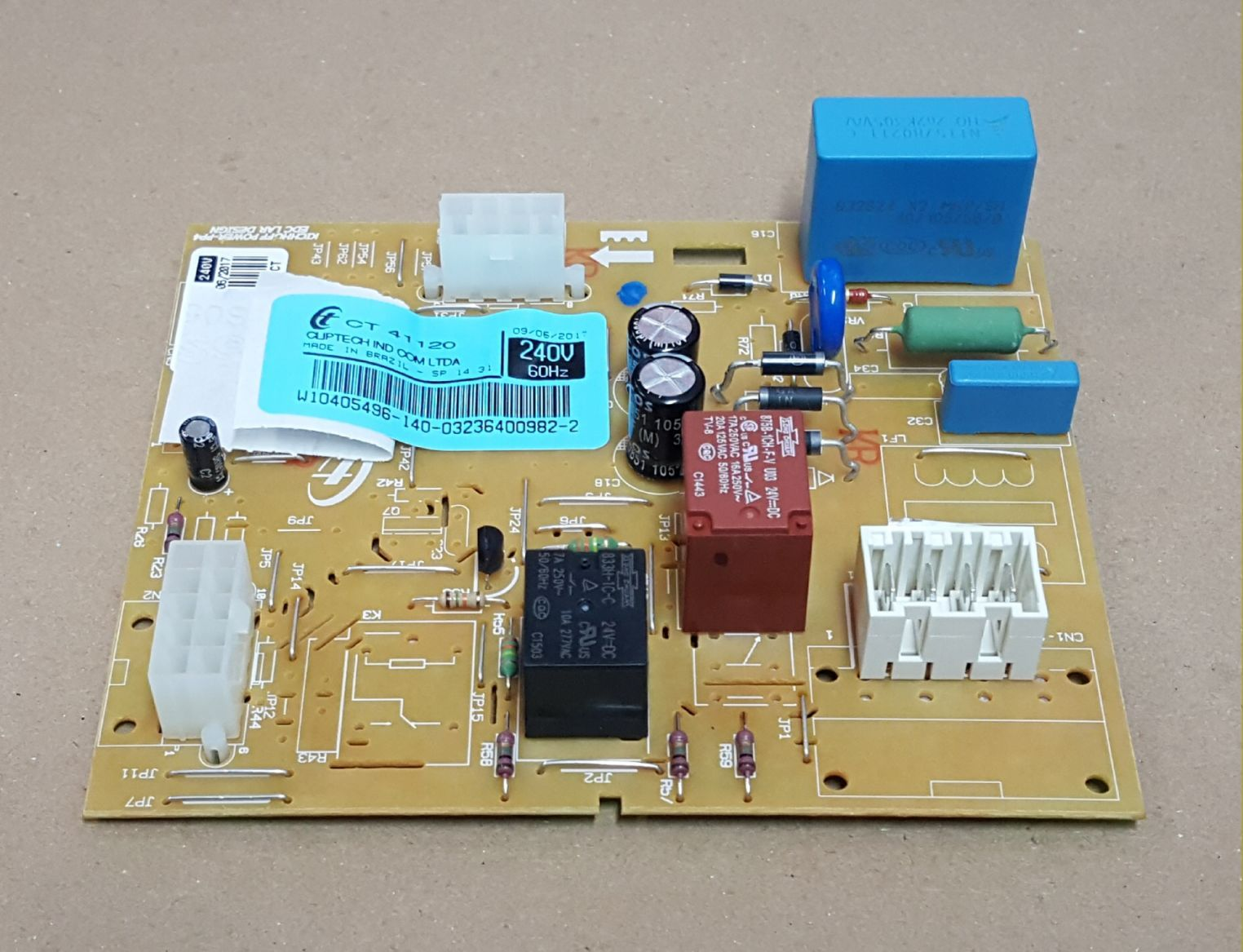Controle Eletrônico Geladeira 220V CRM50AR / CRM50AB - CÓD: W10405496