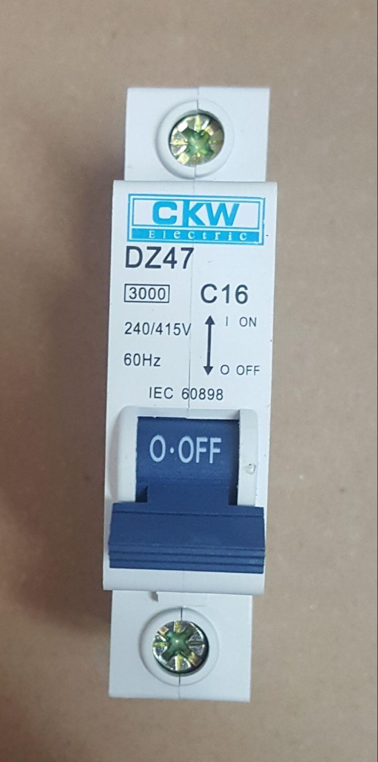 DISJUNTOR TERMOMAGNÉTICO - DZ47-63-1 POLO 16A - 240/415V