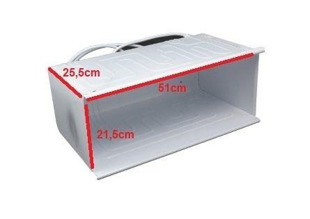Evaporador Refrigerador Brastemp / Consul com Lateral para vários modelos