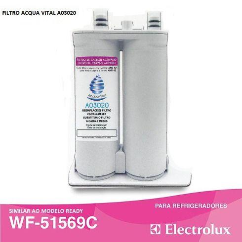 Filtro de água para Refrigeradores Side By Side Eletrolux