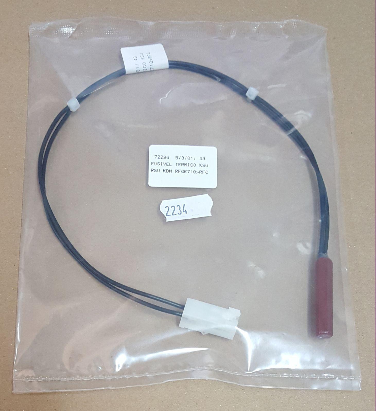 Fusível Térmico para Geladeira Bosch / Continental - KDN / KSU / RSU / RFGE710 - Cod. 172296