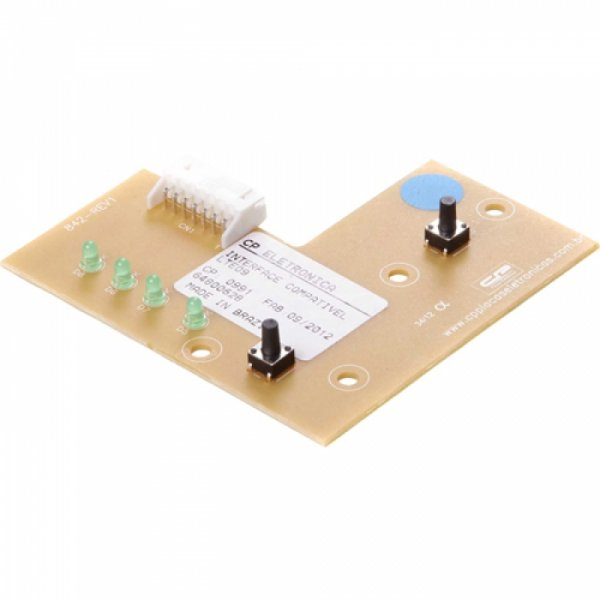 Interface Compatível Lavadora Electrolux LTE09