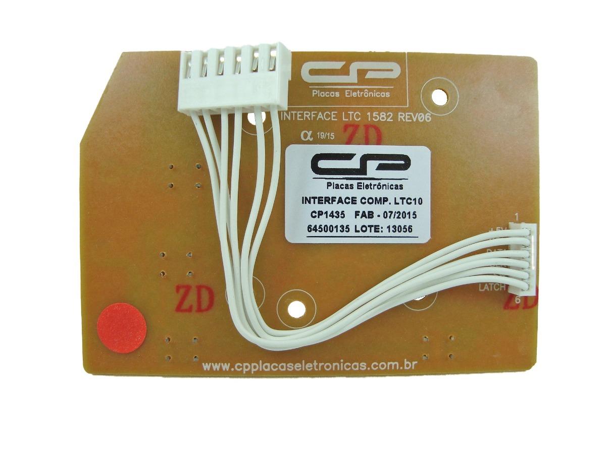 Interface Compatível Lavadora Electrolux  LTC10, LTC12, LTC15, LT11F, LT12F, LT15F, LTD09, LTD11