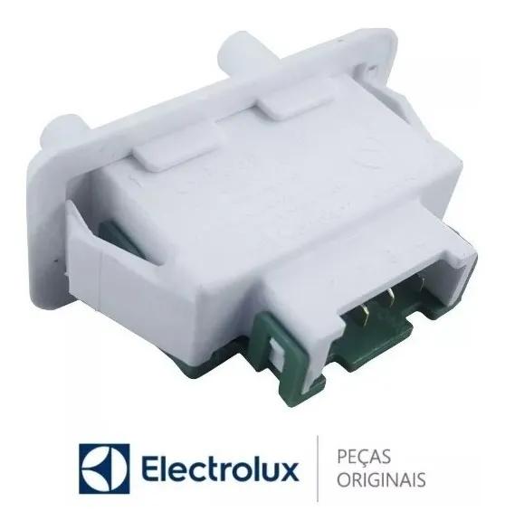 Interruptor da porta Refrigerador Electrolux Modelos DFF44 / DC34 / DC38 / DC40 / DC45 / DC46 / DC47 DUPLEX