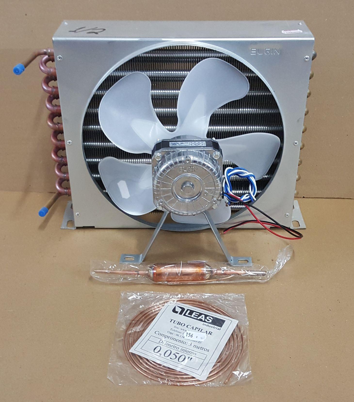 Kit Condensador Para Motor 1/2 Hp (35 x 9 x 27 cm)