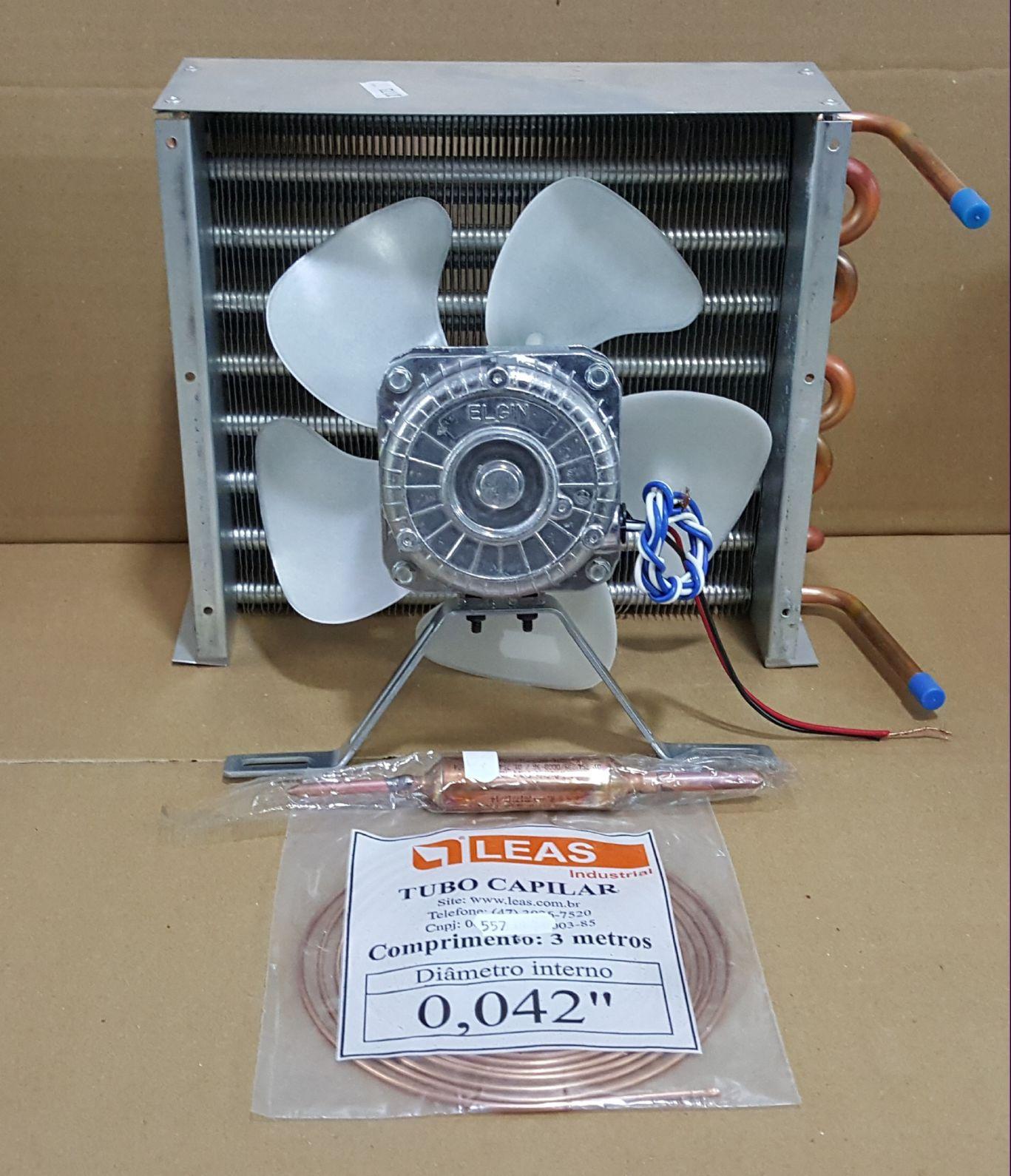 Kit Condensador Para Motor 1/5 Hp (22 x 9 x 29 cm)