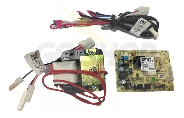 Kit Placa para Refrigeradores Electrolux Modelos DF47 / DF50 / DF50X / DFW50 / DW49 - 70001456 - 220v
