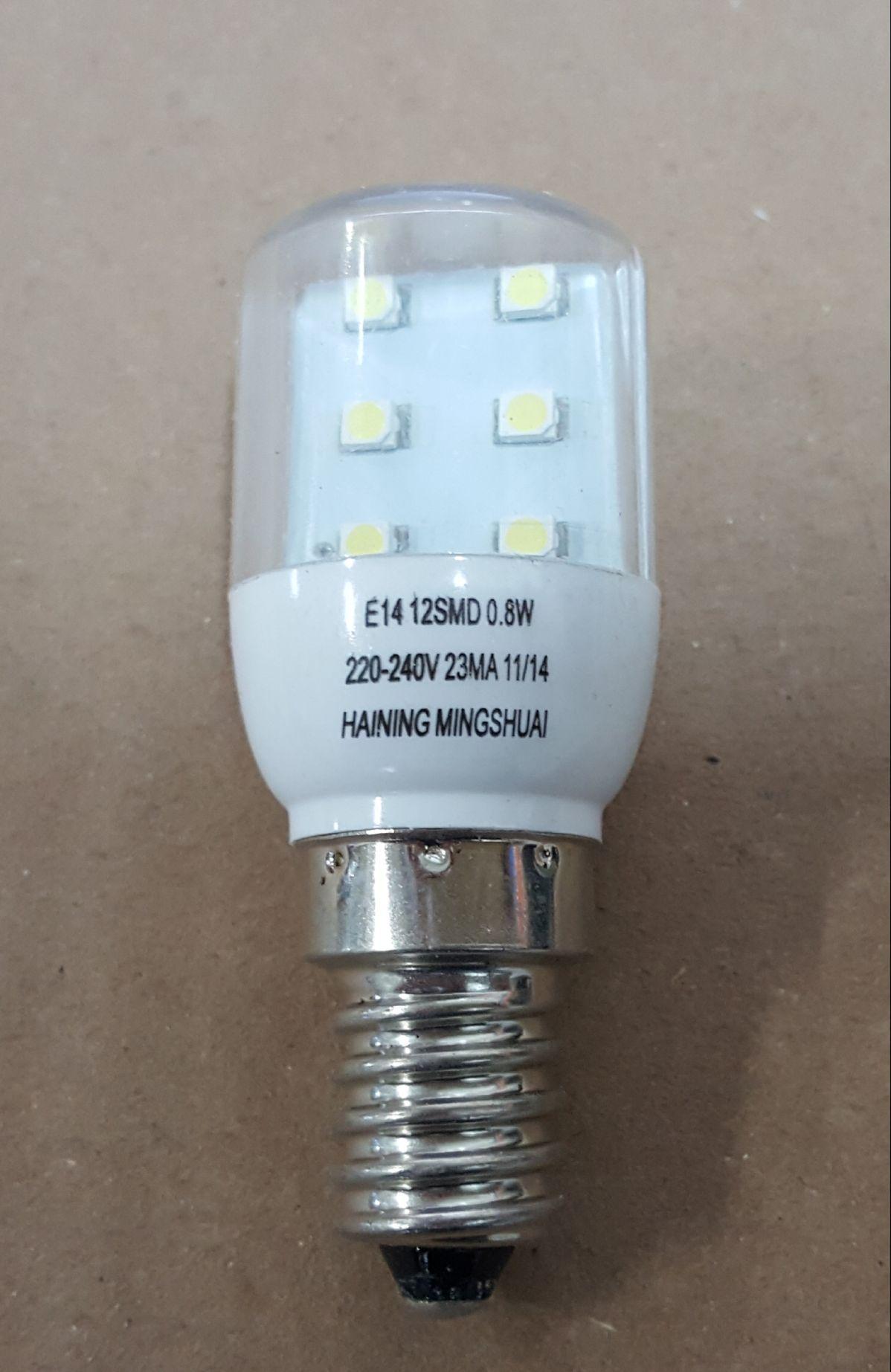 Lampadas De Geladeira 12 Led 1watts 6000k 220v