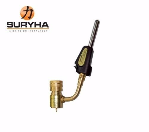 Bico Maçarico Portátil Automático para Refrigeração e Ar Condicionado - Suryha