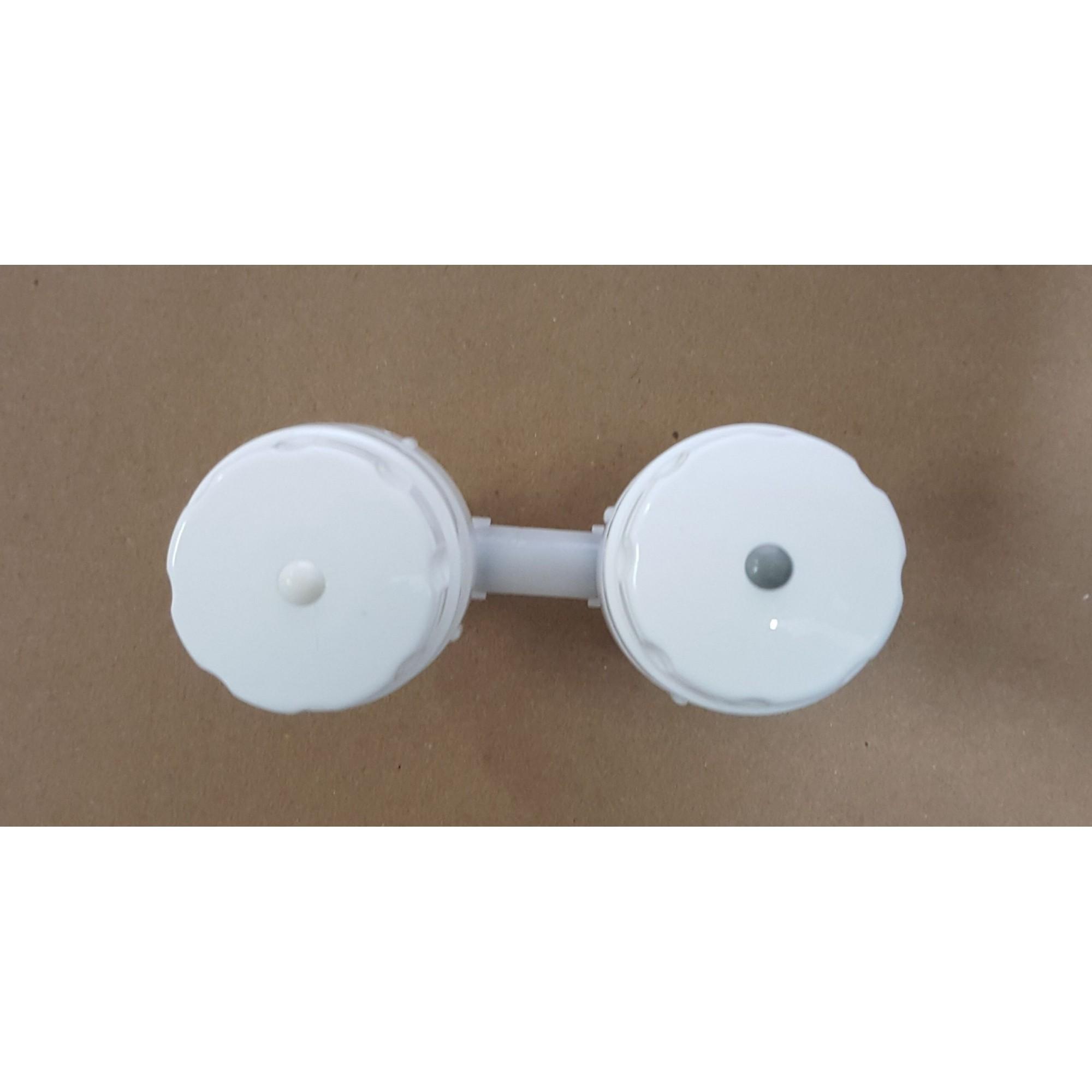 Conjunto Registro Manoplas Purificador Soft - Modelo Antigo - SLIM