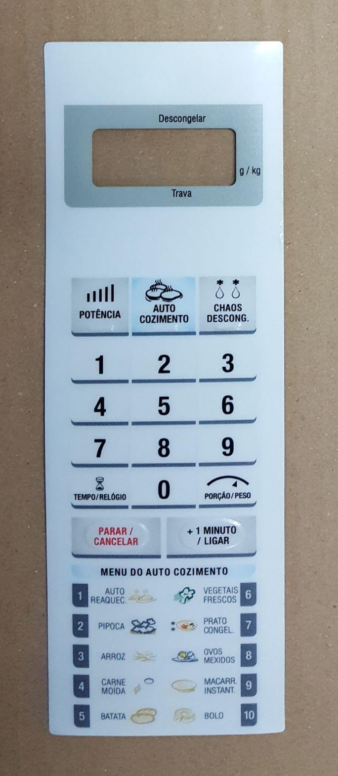 Membrana Para Forno Microondas Panasonic NNG45