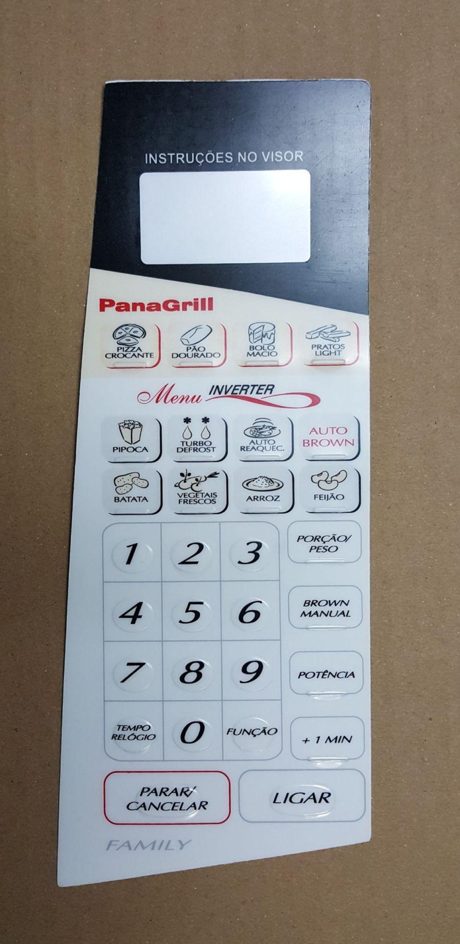 Membrana Para Forno Microondas Panasonic NNG62
