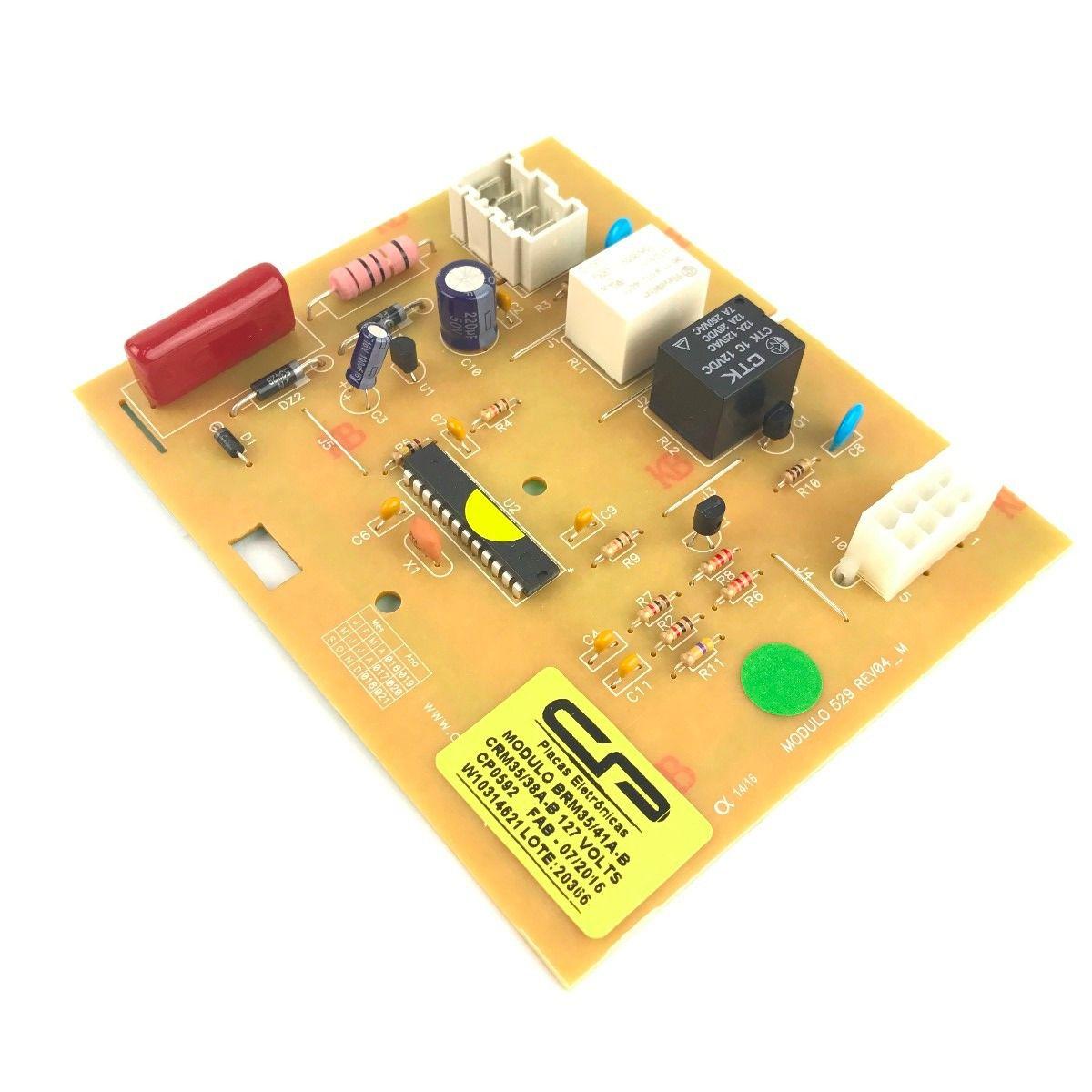 Módulo para Refrigerador Brastemp - BRM35/41AB / CRM35/38AB / BRM36 - 127V - CP 0592