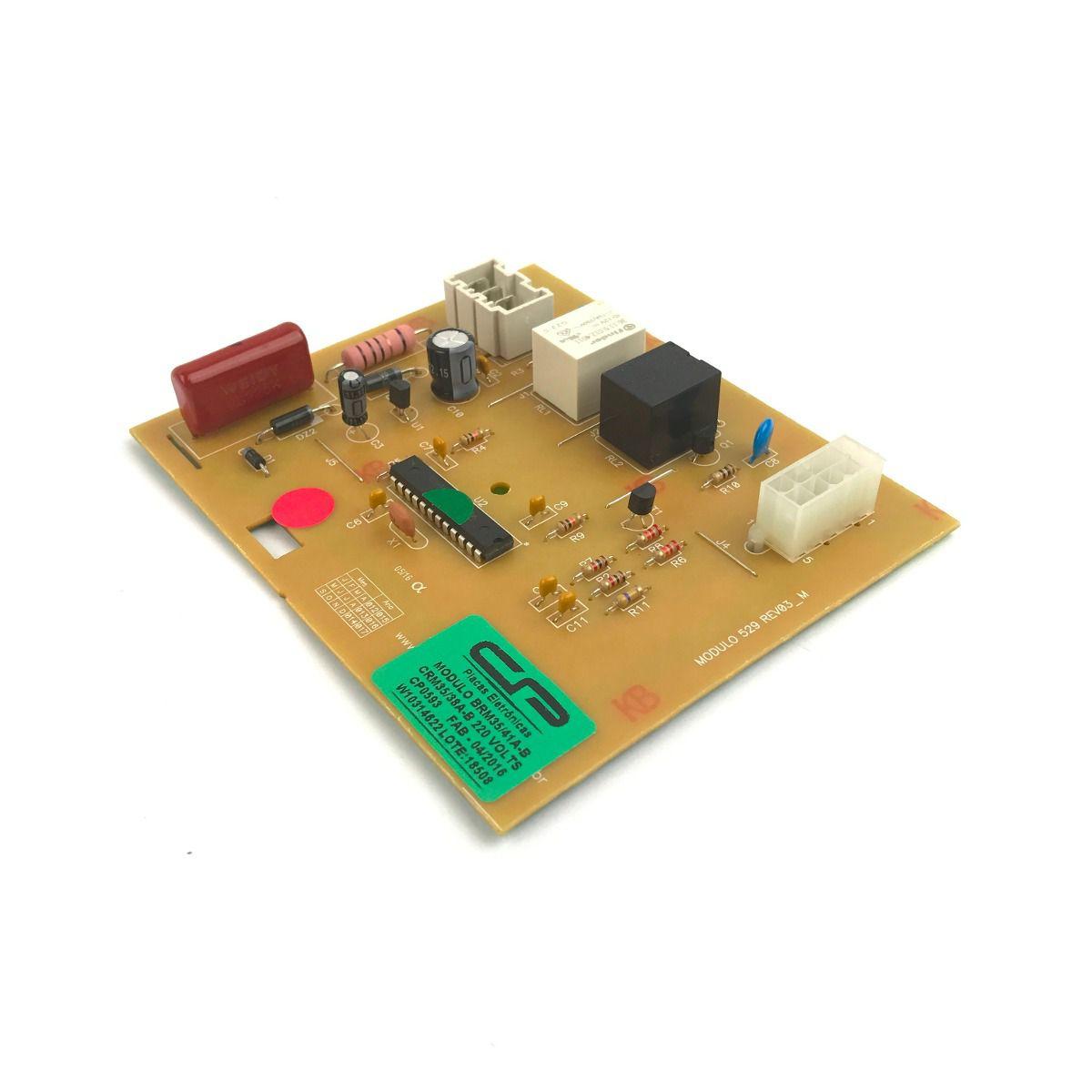 Módulo para Refrigerador Brastemp - BRM35/41AB / CRM35/38AB / BRM36 - 220V - CP 0593