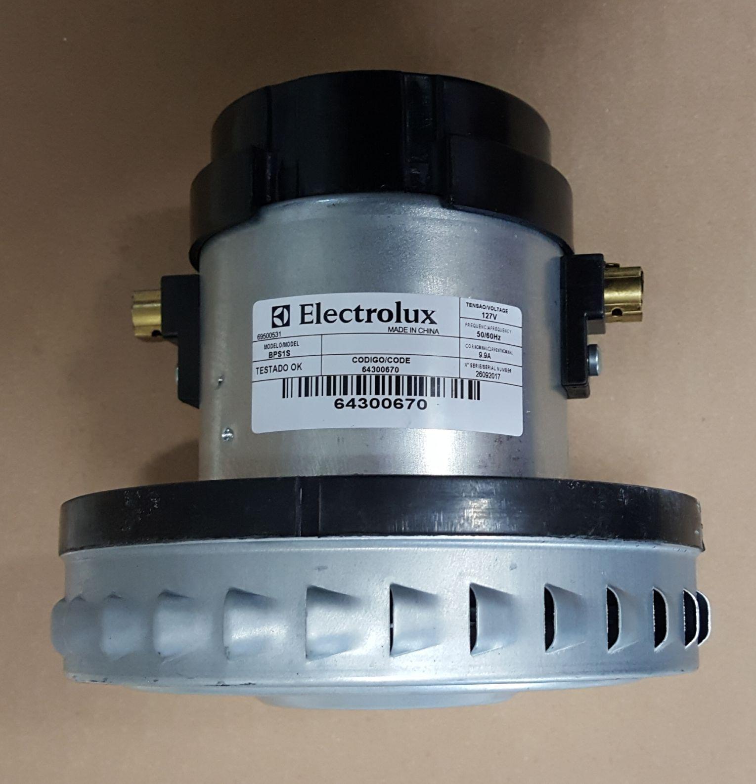 Motor Aspirador de Pó Electrolux - BPS1S - 127v - 1000w - Modelos: A10 / A20 / GT3000