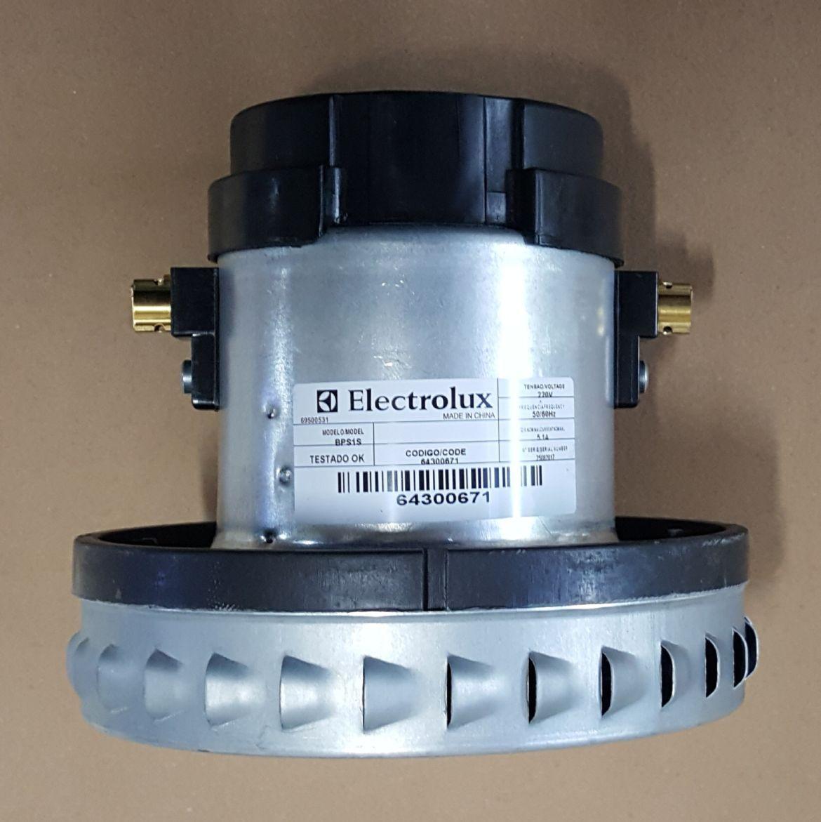 Motor Aspirador de Pó Electrolux - BPS1S - 220v - 1000w - Modelos: A10 / A20 / GT3000