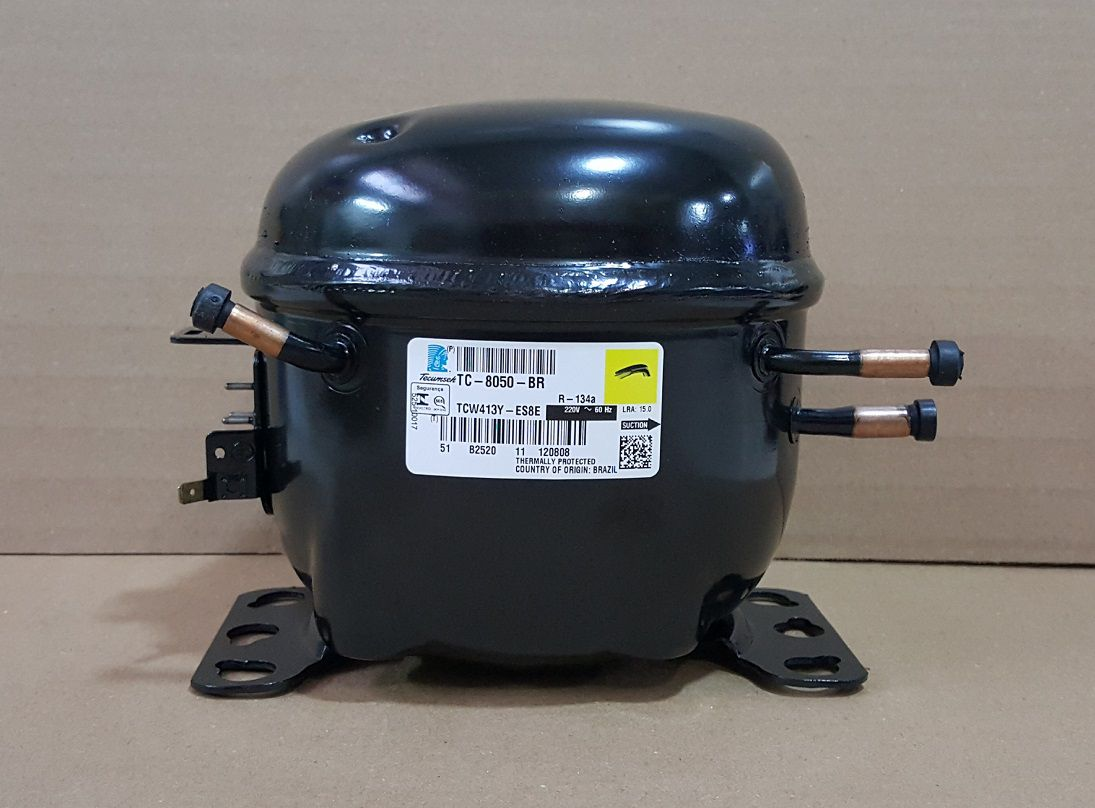 MOTOR COMPRESSOR TECUMSEH 1/3+ HP - TCW413Y - GÁS R134a - 220v