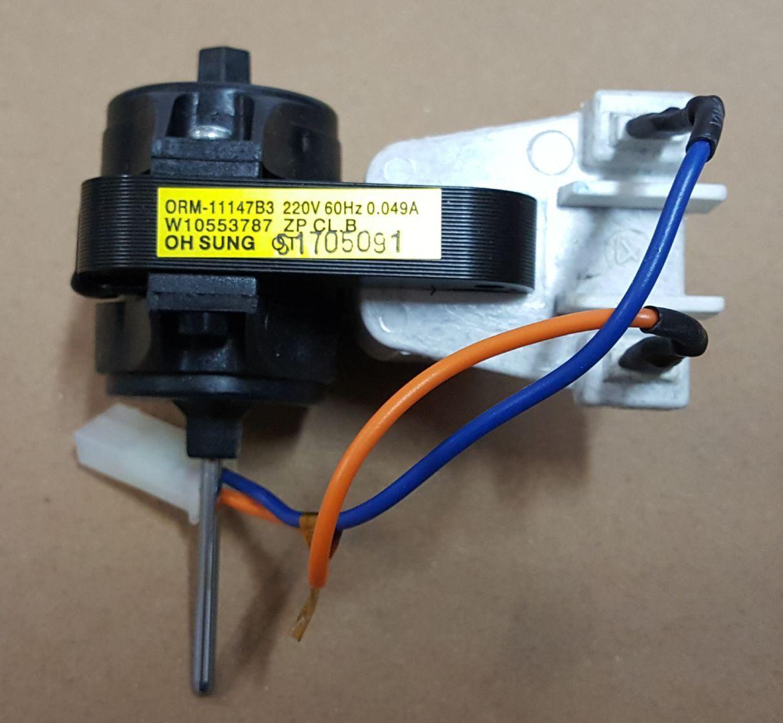 Motor do Ventilador para Geladeira Brastemp - 220v - W10553787