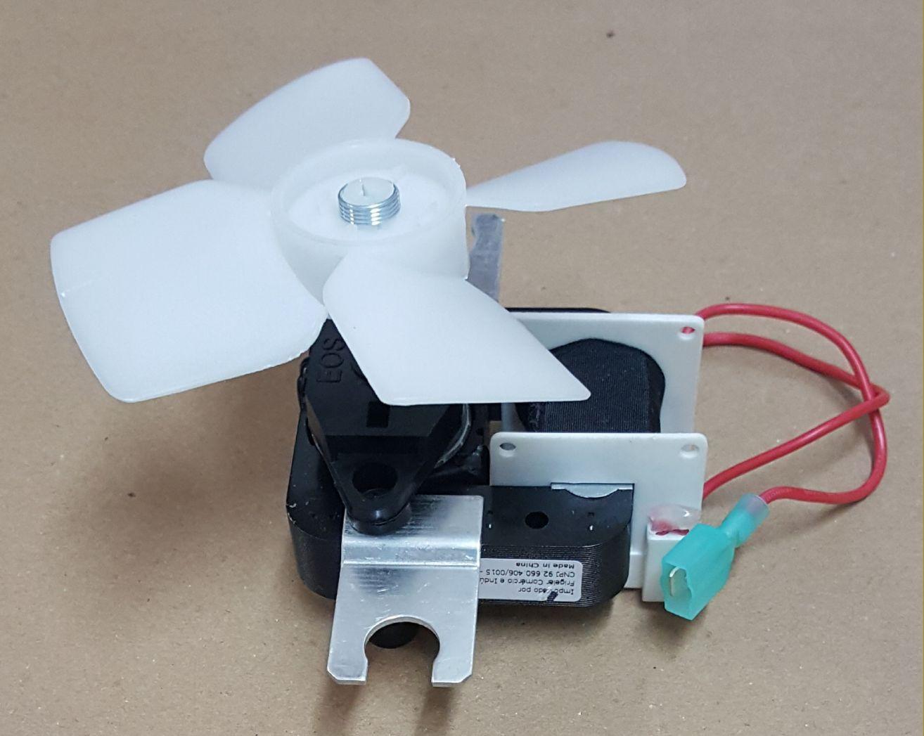 Motor Ventilador para Refrigerador Brastemp Clean BRG43B - 220v