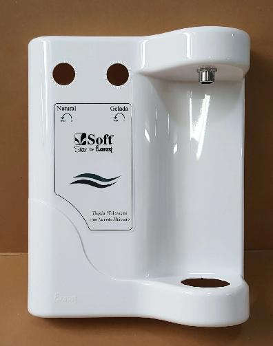 Painel Frontal Soft STAR (Branco/Prata/Preto)