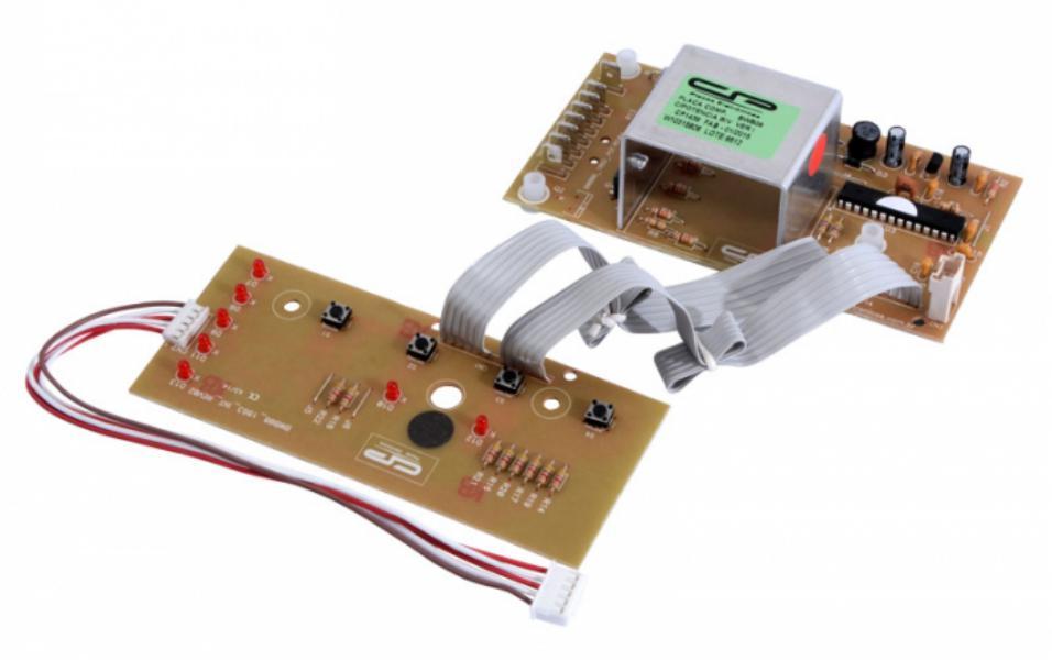 Placa Compatível Lavadora Brastemp BWB08A com interface Versão 1 - Bivolt