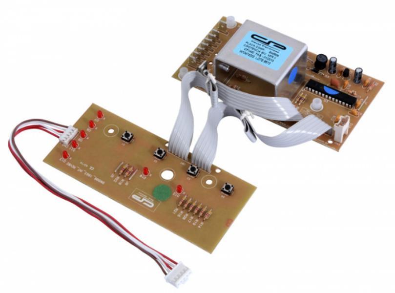 Placa Compatível Lavadora Brastemp Clean BWB08A com Interface Versão II bivolt