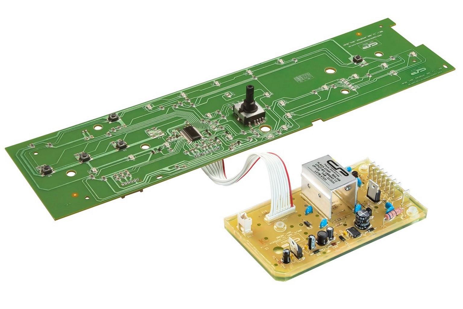 Placa compatível Lavadora Brastemp BWL09B com potência - Bivolt - Versão 1/2 - CP 1499