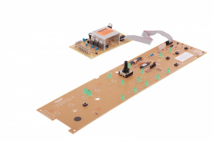 Placa Compatível Lavadora Brastemp BWL09B com potência bivolt interface W10308925