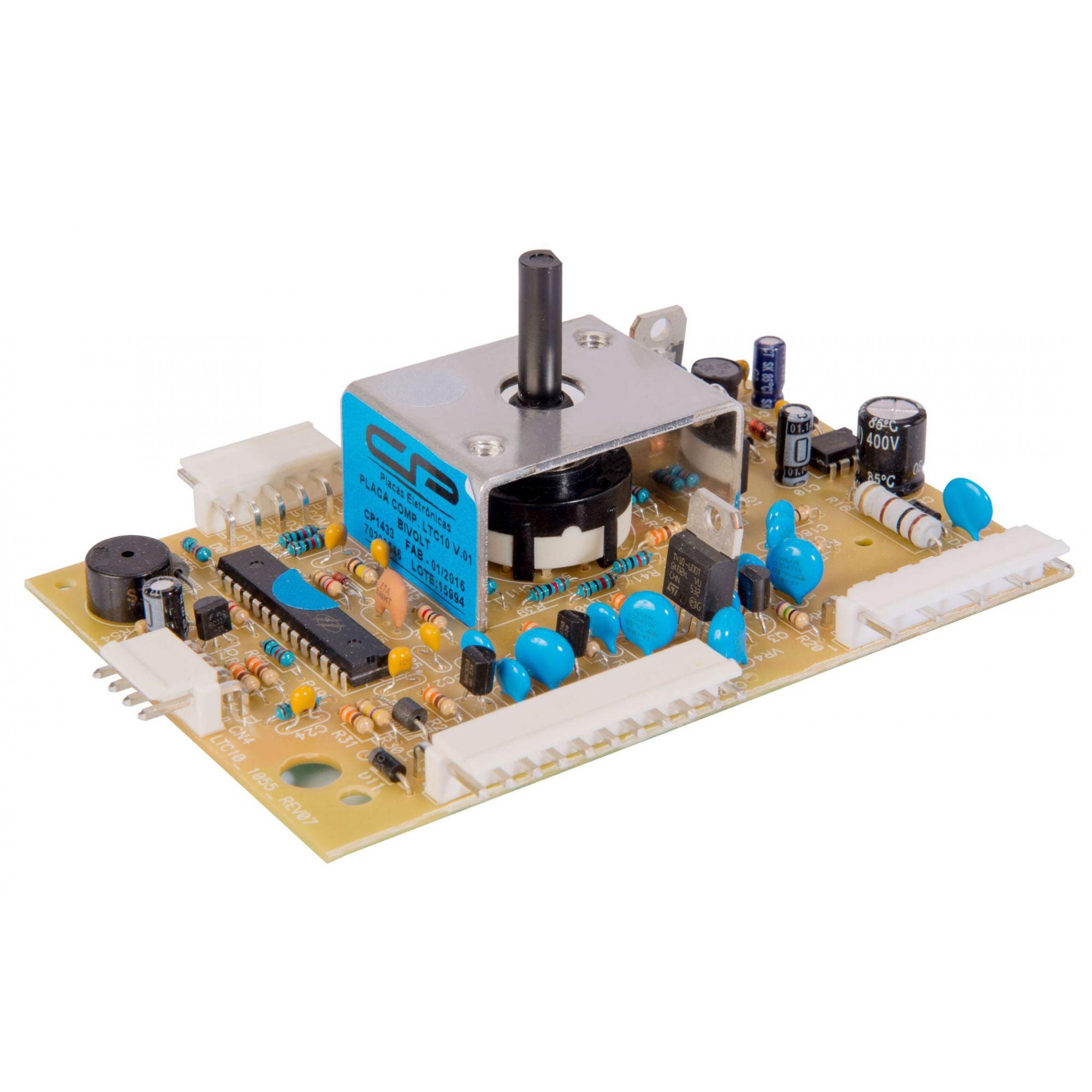 Placa Compatível Lavadora Electrolux LTC10 Versão 1 - Bivolt