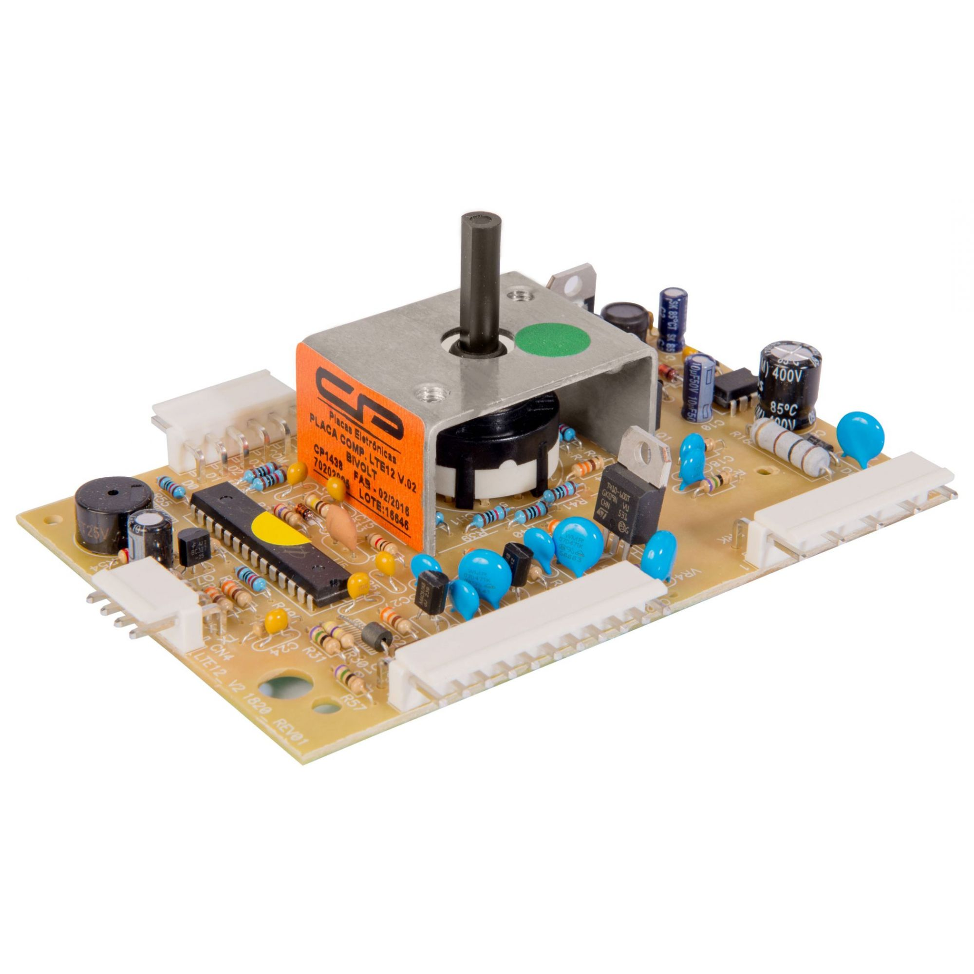 Placa Compatível Lavadora Electrolux LTE12 Versão 2 (2010/2012) - Bivolt - CP 1436