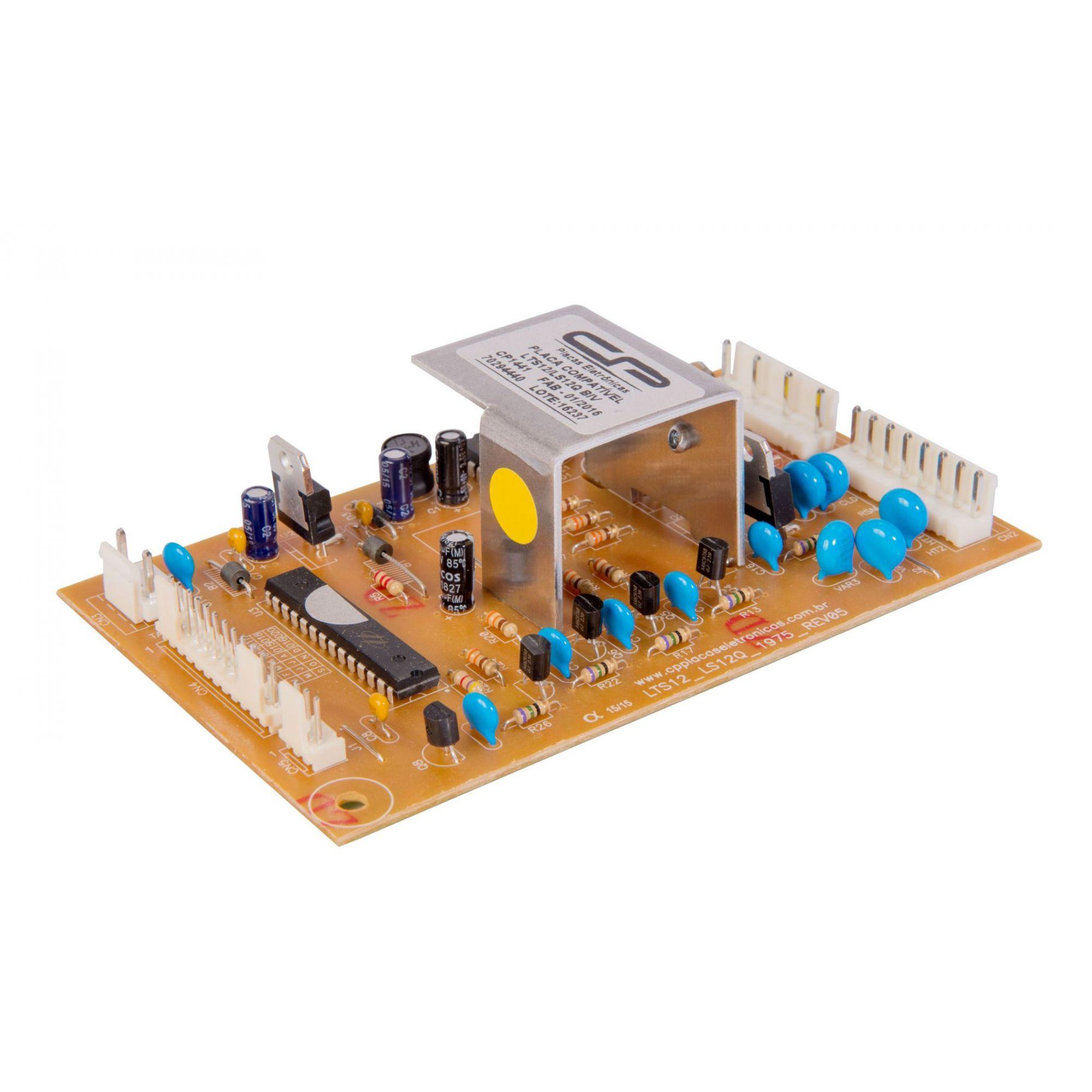 Placa Compatível Lavadora Electrolux LTS12/LS12Q - Bivolt