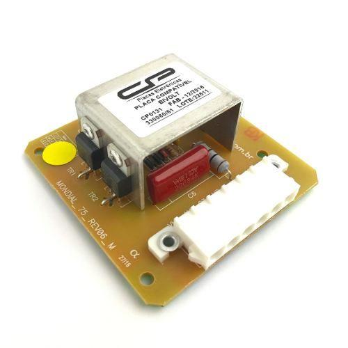 Placa Compatível Lavadora Mondial 330060 - Cód. CP 0131