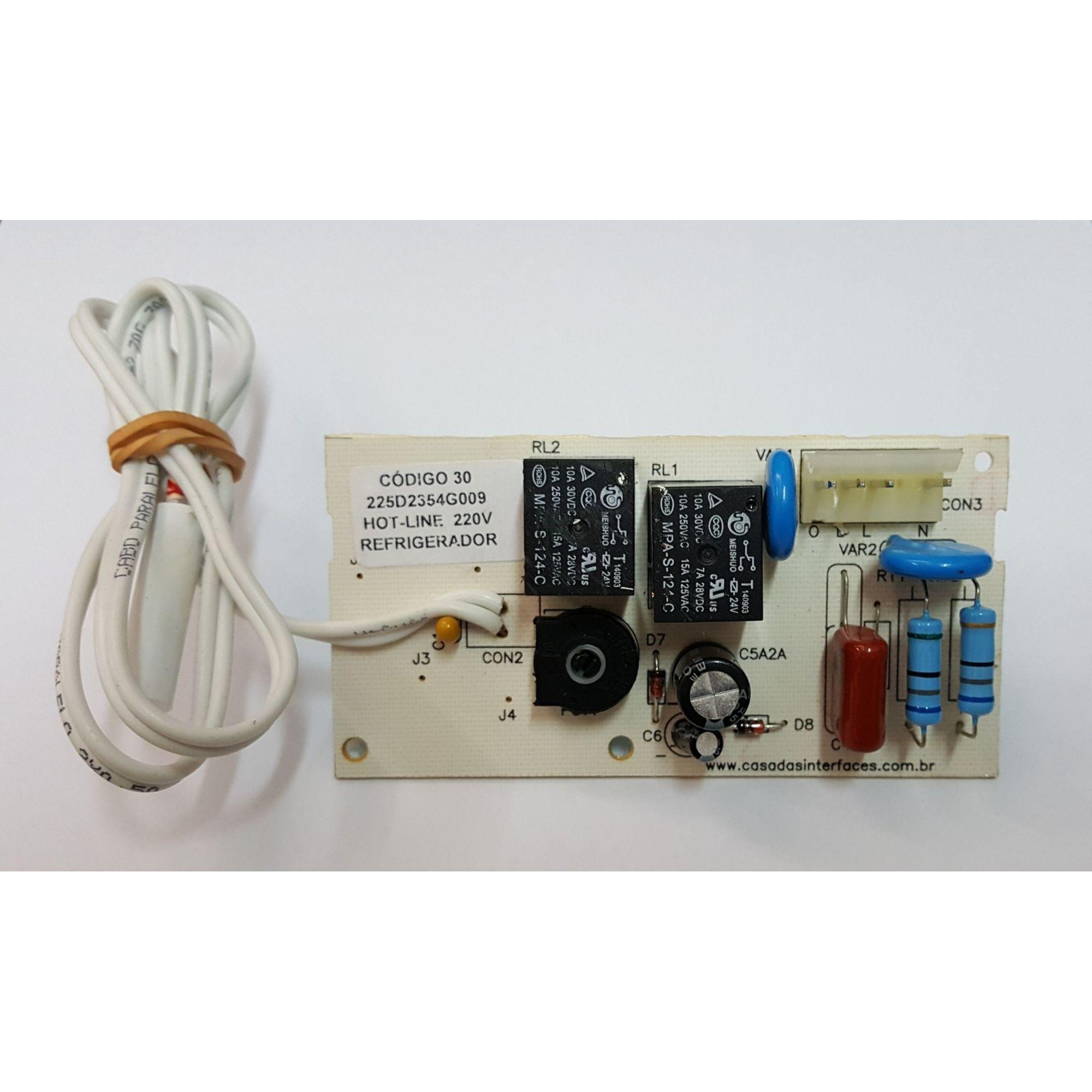 Placa Eletrônica GE HOT LINE 410 / 450 220v - 225D2354G009