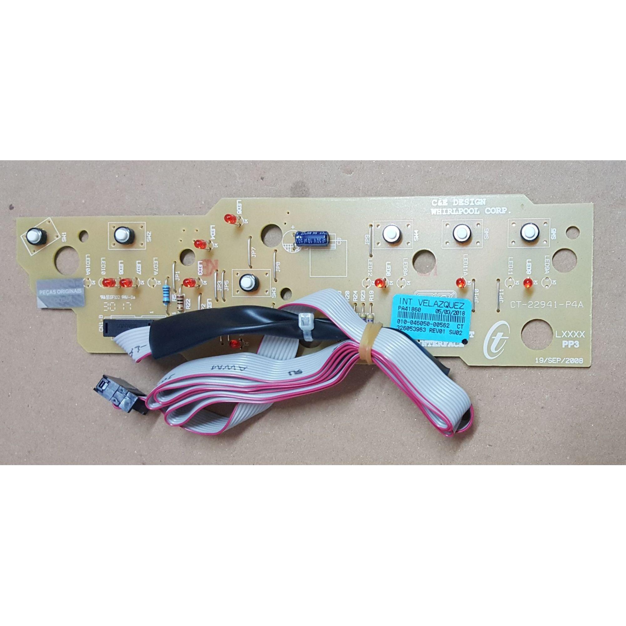 Placa Eletrônica Interface - Mod: BWF09 / BWG10A