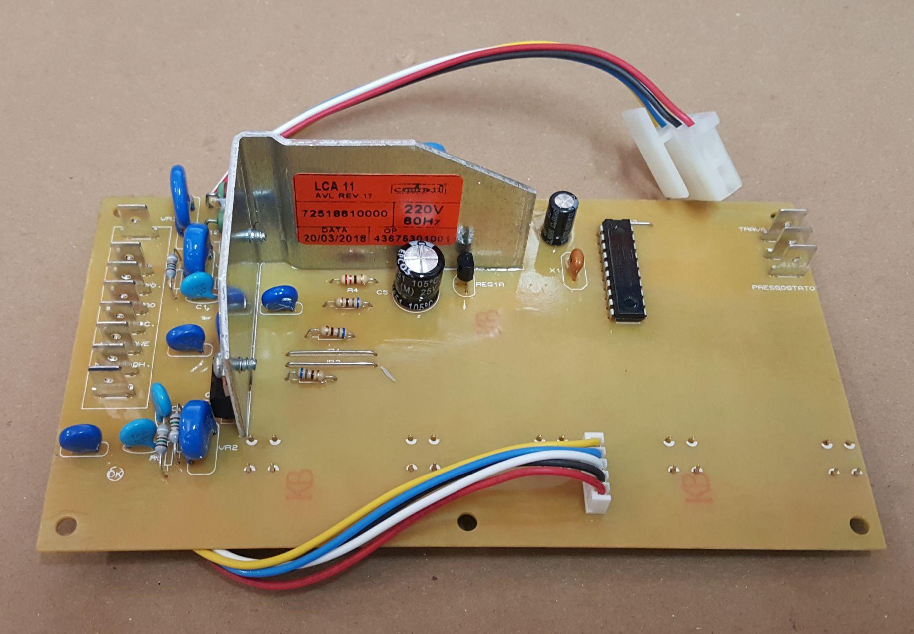 Placa Eletrônica para Lavadora Colormaq 11kg 220v Emicol